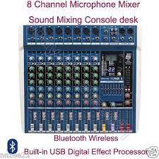 <b>MICWL 8 Channel</b> Live Audio Microphone Mixers Mixing Console ...