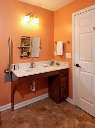 Bathroom Vanities Cincinnati Impressive WC Accessible Bathroom By Bauscher Construction Of Cincinnati OH
