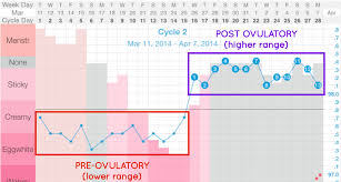 Cervical Fluid Chart Primary Fertility Signs Appleseed Fertility