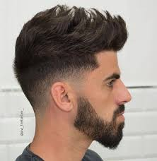 Image Coupe Homme Degrade Cheveux Long