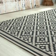 black and cream area rug black and cream rug ideal for conservatories kitchens and dining areas