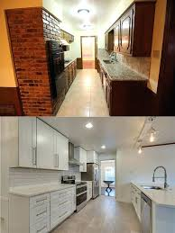 small galley kitchen remodel before and after galley kitchen remodel before and after picture small galley