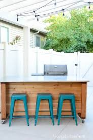 portable outdoor kitchen island residence build plans houseful of handmade 11