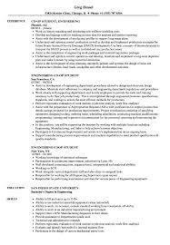 Engineering Student Resume Samples Velvet Jobs