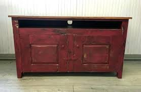Distressed Wood Entertainment Centers Custom Made Shaker Style Center
