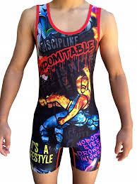 Details About Punisher Wrestling Singlet Folkstyle Youths