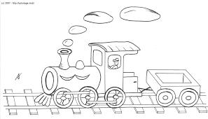 Coloriage Train Les Beaux Dessins De Transport Imprimer Et