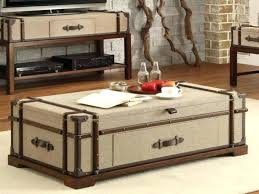 furniture steamer trunk coffee table lovely with drawers diy vintage full size