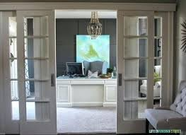 glass home office french doors interior with makeover wood bead double for s home depot french doors office
