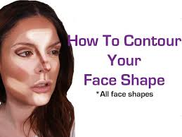 how to contour your face shape makeup for beginners face slimming technique