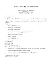 Internship Position Cover Letter Cover Letter Example Internship