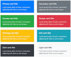 how to use bootstrap 4 cards tutorial