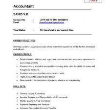 Sample Resume For Accountant In India Archives Onda Drogues Com