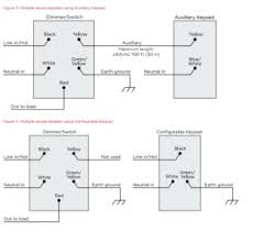 c4 apd120 ll with 3 way wring? general control4 discussion act 5 keypad wiring diagram share this post