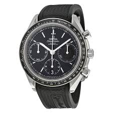 omega watches on jomashop omega speedmaster racing automatic chronograph black dial stainless steel men s watch