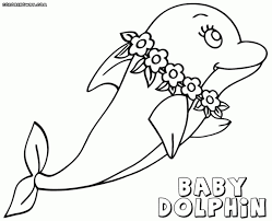 Cooloring Book 40 Extraordinary Printable Dolphin Coloring Pages