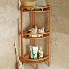 corner shower caddy teak. Fine Teak Teak Corner Stand Shelf Unit Throughout Shower Caddy P