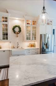 carrara marble countertop. Kitchen Marble Countertop. The Beautiful Countertop In This Kitche Is Carrara Marble. #Kitchen #Countertop #Marble #Carrara
