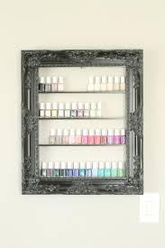 large nail polish rack nail polish storage elegant frame rack white shabby chic frame nail salon essential oil storage medium