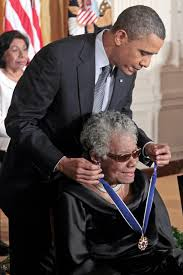 a angelou academy of achievement president barack obama presents the presidential medal of dom to author and poet a angelou in