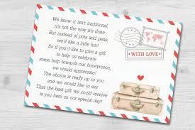 destination wedding invitation wording cash gift