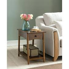 mid century modern bedside table. Mid Century Modern Side Table The With Charging Station Bedside