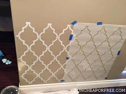large wall stencil wall stencil tutorial easy and beautiful accent wall large letter wall stencils for painting