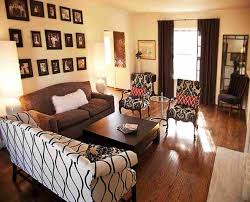 Living Room Color With Brown Furniture Living Room Attractive Elegant Living Rooms Design Popular Living
