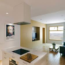 Interior Design For Kitchen And Living Room Small Apartment With Foldaway Features