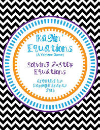 ragin equations is a set of 24 two step equations to solve including all