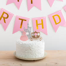 Crown Cake Topper Party City Cupcake Disney Castle Wedding Ebay