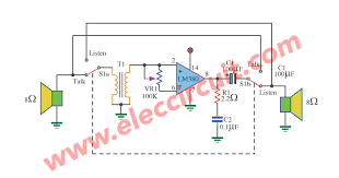 mini intercom circuit diagram wiring diagram rules mini intercom circuit diagram wiring diagrams second mini intercom circuit diagram