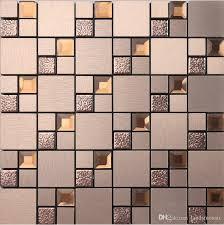 self adhesive tiles shiny diamond glass mix metal self stick mosaic tiles aluminium plastic panel self self adhesive tiles