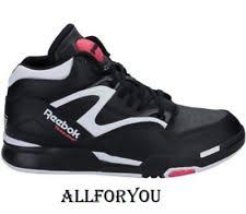 reebok high tops womens. reebok pump omni lite women leather trainers genuine black/white/pink colour high tops womens p