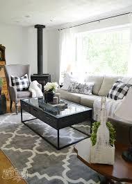 style living room furniture cottage. A Black And White Rustic Cottage Farmhouse Living Room Style Furniture N