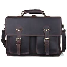 tiding men 16 laptop bag leather handbags designers brand high quality large italian carry on bag for business trip 11021
