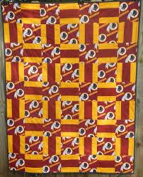 Best 25+ Football quilt ideas on Pinterest | Sports quilts ... & Redskins Quilt (Warm Wishes pattern) Adamdwight.com