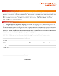 Vendor Confidentiality Agreement Email Contract Template With Confidentiality Contract Template 24 1