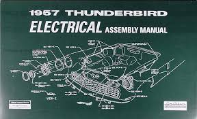 1957 ford thunderbird wiring diagram wiring diagram option 1957 ford thunderbird electrical assembly manual reprint 1957 ford thunderbird wiring diagram