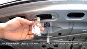 How To Install Led Lights In Car Exterior How To Install Led Panel Light For Car Trunk Cargo Area Light