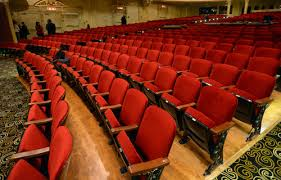 steve griffin the salt lake tribune newly reupholstered theatre seats are on display during the