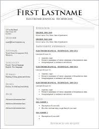 Curriculum Vitae Template Enchanting Free Cv Template Curriculum Vitae And Example Shalomhouse Zasvobodu