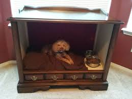 Tv Console to Dog Bed Take 2