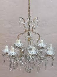 italian large maria theresa seventeen light chandelier 29