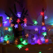Christmas Light Proposal Led Star Novelty String Light Connectable Festoon Party Ball Lamps Lights Christmas Fairy Wedding Garden Pendant Garland