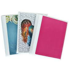 Photo Albulm 4 X 6 Photo Albums Pack Of 3 Each Mini Photo Album Holds Up To 48 4x6 Photos Flexible Removable Covers Come In Random Assorted Patterns And