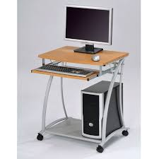 Stylish Small Computer Desk Small Computer Desk Comfortable In The Workplace