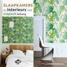 Slaapkamer Behang Groen Huisdecoratie Ideeën