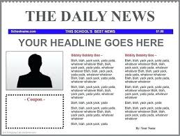 Newspaper Article Template Free Online Free Technology For Teachers Newspaper Templates Google Docs Word