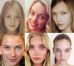 35 photos of victoria s secret models without make up